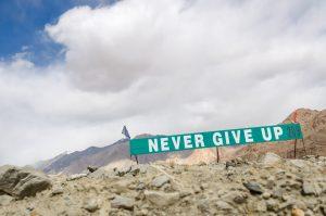 Non arrendersi mai